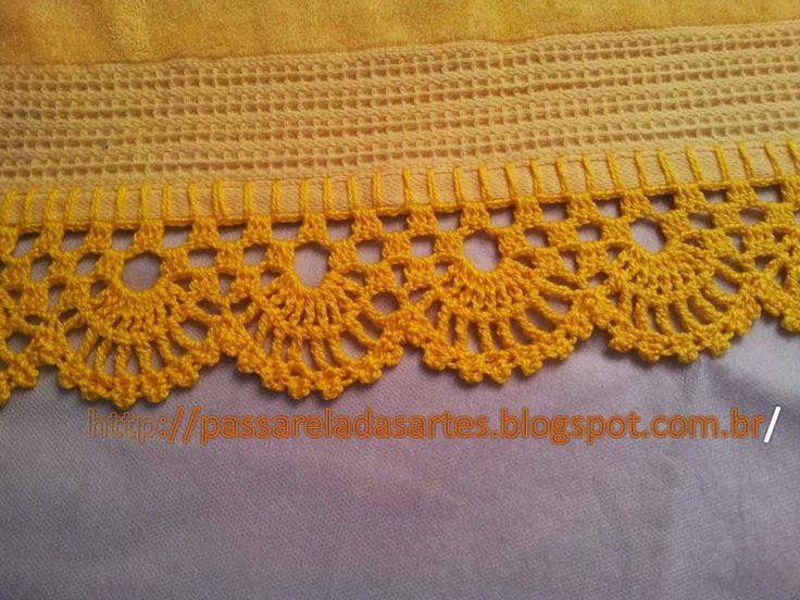 *** Crochê, tricô, bordado em ponto cruz, costura e outras técnicas.