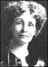 """Emmeline Pankhurst ~ thank you Emmeline!  Following the end of World War I the UK """"1918 Representation of the People Act"""" began the process of allowing women to vote."""
