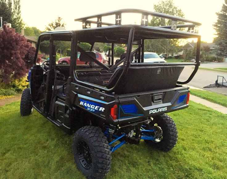 #polarisranger #rollcage #benchseat #safarirack  Completed a roll cage package installation on two killer looking 2016 Polaris Ranger Crew Cabs.  They are off to Oregon to the customer Outriders Northwest.  Call Darren for pricing and information 801-865-7647.