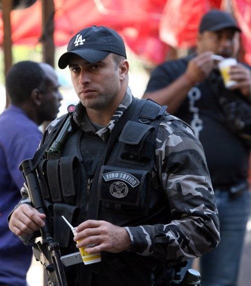 police officer - Brazil.