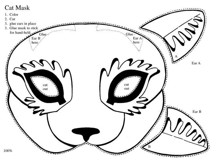 cut out cat ears | kiddos | Pinterest