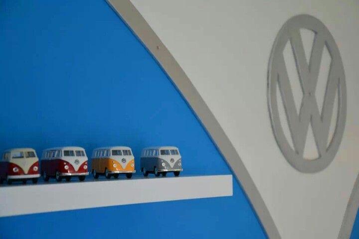 VW slaapkamer van Jurre