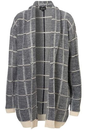 In my opinion, a coatigan is the best idea since cake pops. This beauty from Topshop will keep you warm and cosy throughout winter nights and has a beautiful check pattern. £60
