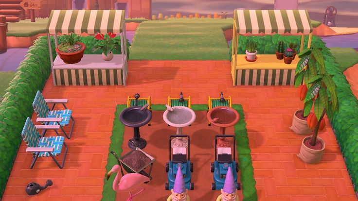 Animal Crossing New Horizon Garden Centre in 2020 | Garden ...