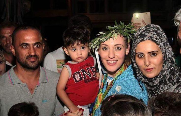 Rio 2016, il cuore grande della tiratrice greca: festeggia l'oro con i rifugiati