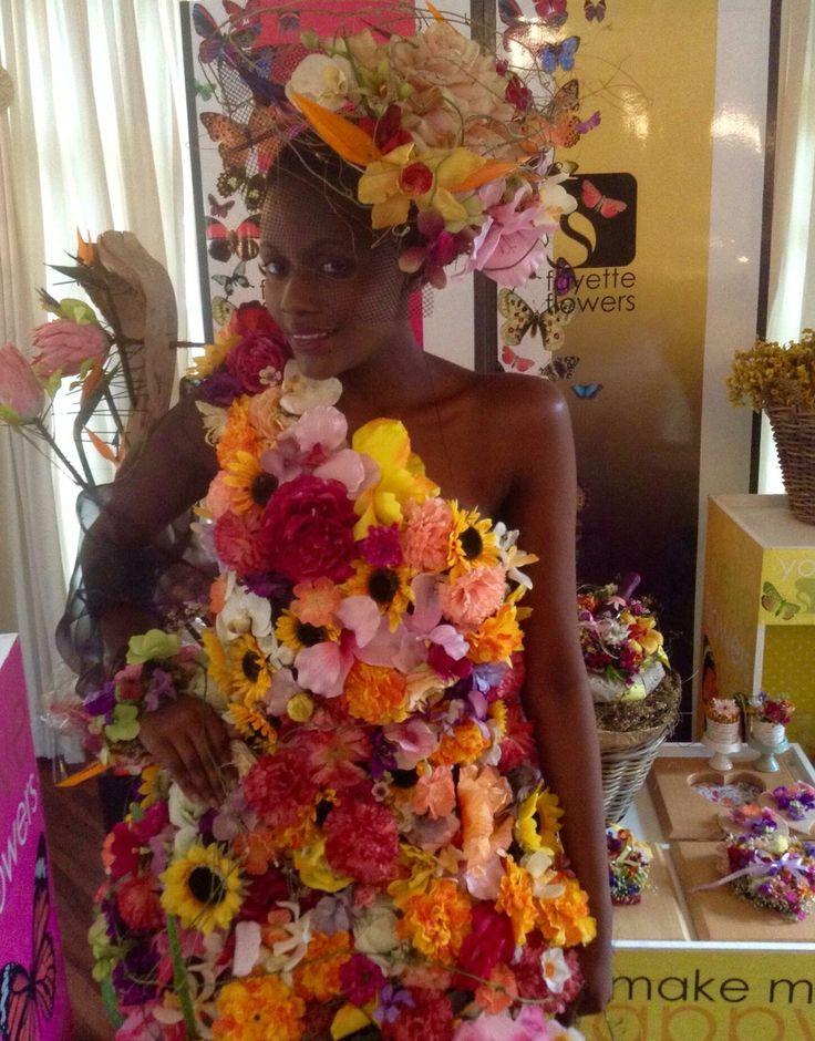 Spring Flora Dress Floral Design / Styling: Fayette