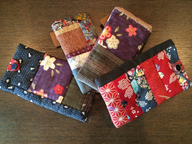 small bags/cases for Sungalsses, Smartphones, etc.