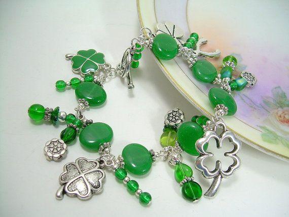 Irish Luck  Irish and St Patrick's Day Charm by JewelFireDesigns, $20.00