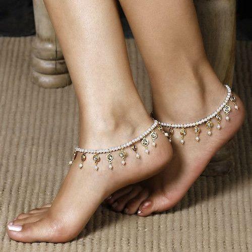 1 pc summer boho sandales perles de cristal glands bracelets main perles bracelet extensible femmes cheville bijoux de pied tornozeleira(China (Mainland))