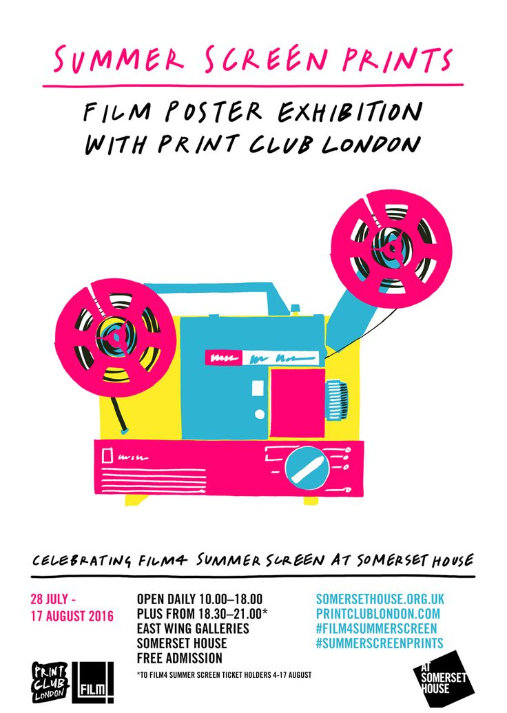 Somerset House, Summer Screen Prints, free. Until Aug 23. Temple.