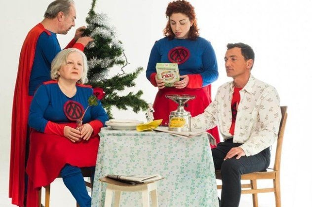 """SUPER SUPPER: a title in english for no actual reason, at 'Apo Koinou Theatro"""". A caustic depiction of an unsafe everydaylife that refuses to change to guarantee its """"security"""" Duration: 12/3/18 – 3/4/18"""