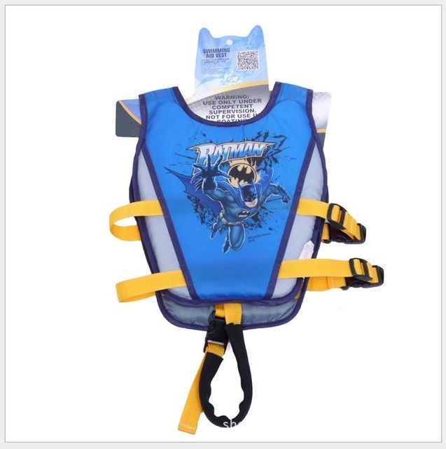 Everest Cartoon Rescue Jacket for Kids Age 3-7 to learn to Swim Accessory Costume Swimming Aids Life Vest Life Jacket 2017 New