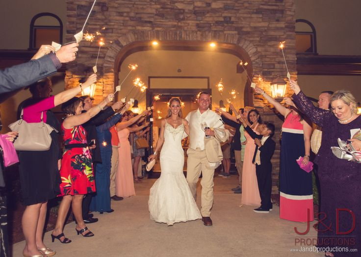 Wedding Sparkler Exit Outdoor Weddings In Houston Ceremony Sparklers FireworksWedding SparklersClear LakeOutdoor