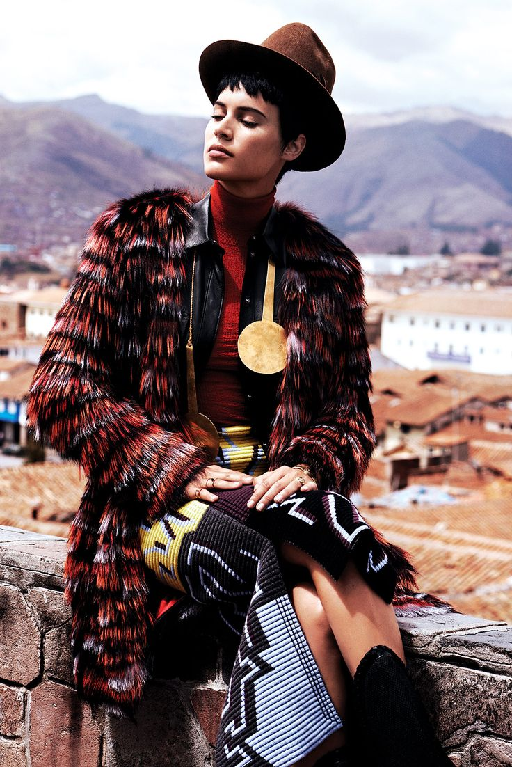 ► #Peru se convierte en el escenario idílico para nuestra historia en #VogueTV  http://buff.ly/1pJFOm7