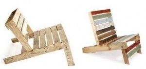 Bouwtekening en instructies voor de eenvoudigste tuinstoel die je zelf kunt bouwen. Doe het zelf palletstoel, maak een complete tuinset van pallets.