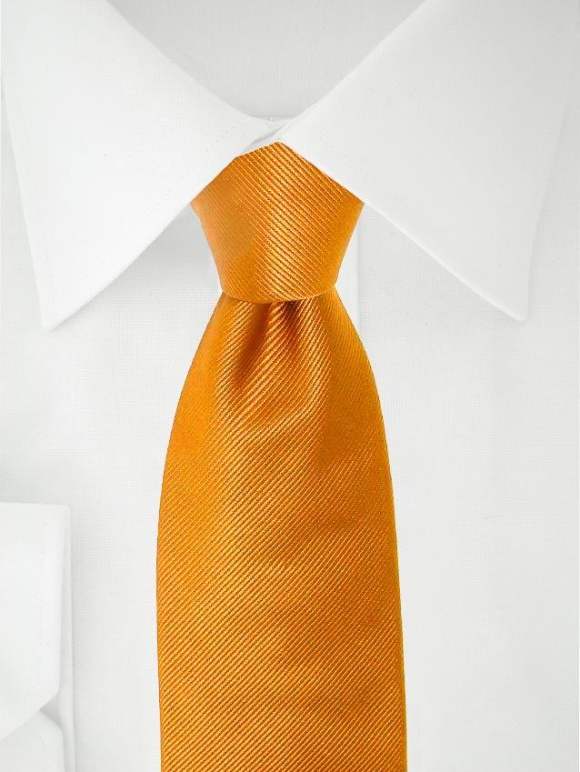 Orange Krawatte in XL