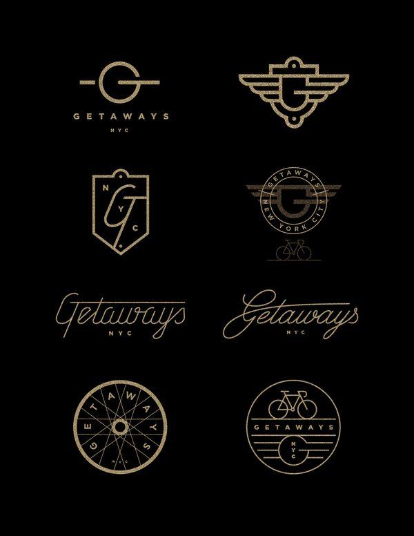 Getaways | #corporate #branding #creative #logo #personalized #identity #design #corporatedesign < repinned by www.BlickeDeeler.de | Have a look on www.LogoGestaltung-Hamburg.de