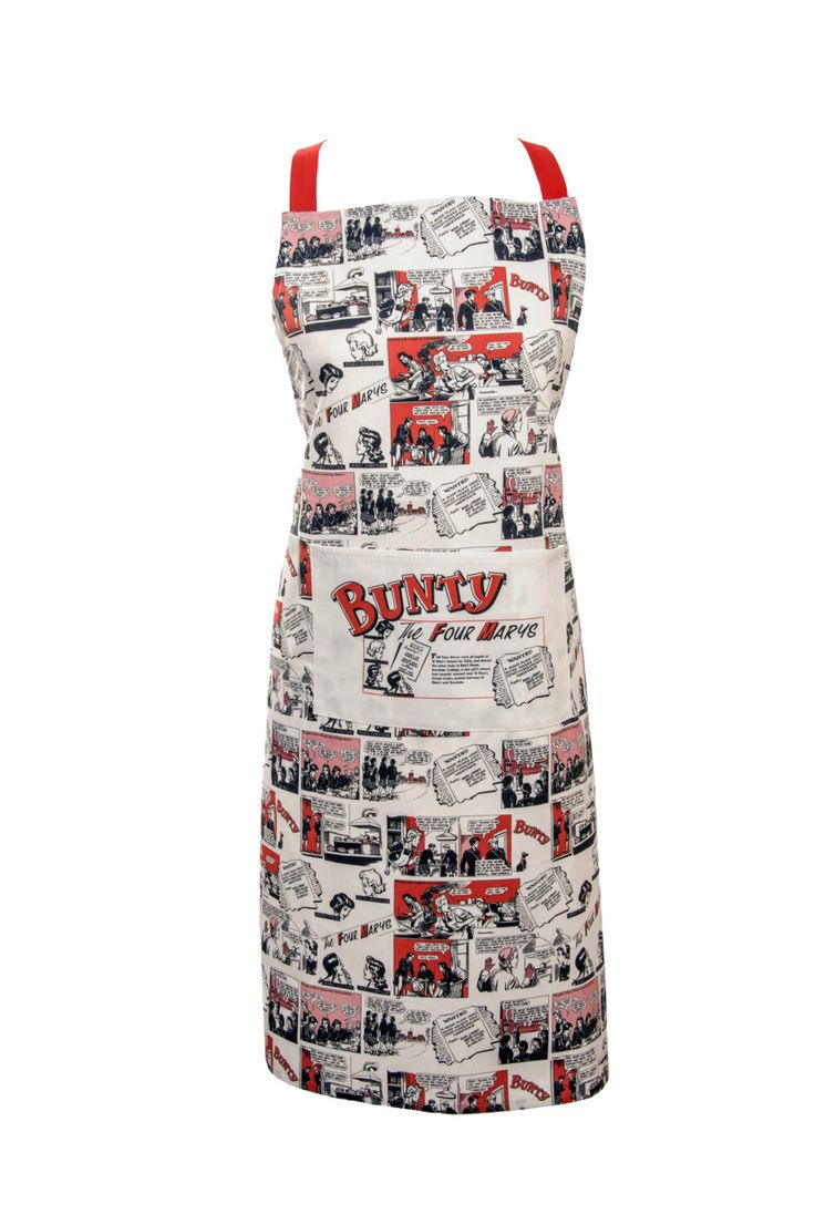 A personal favourite from my Etsy shop https://www.etsy.com/uk/listing/261322082/bunty-comic-apron