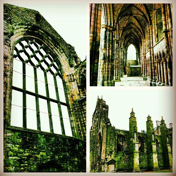 Holyrood Abbey.