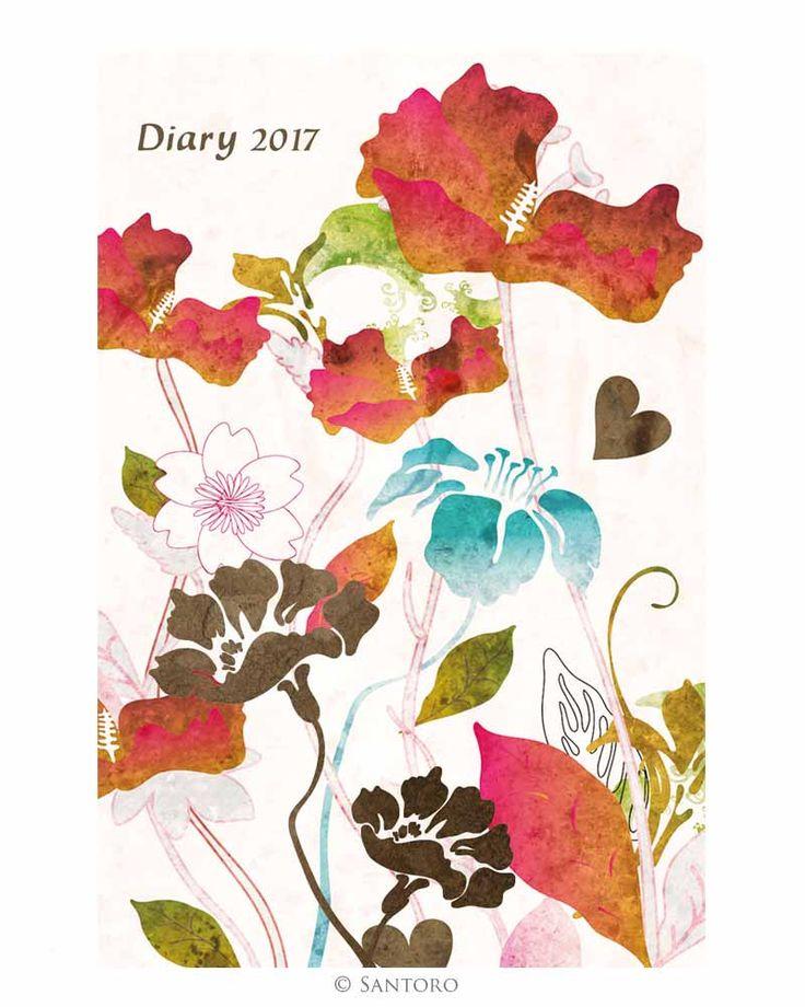 Santoro Kyoto 2017 Pocket Diary http://www.a-choice-of-gifts.co.uk/giftshop/prod_5223352-Santoro-Kyoto-2017-Pocket-Diary.html