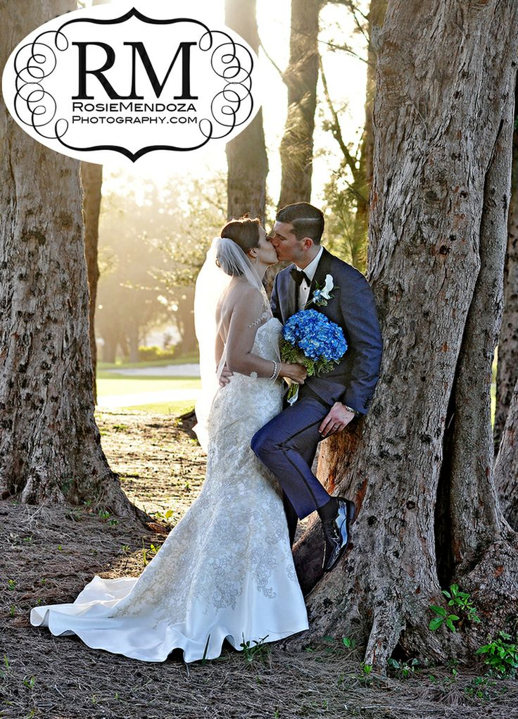 Miami wedding photographer | Jonathan and Gina's #Wedding at Nativity Catholic Church  Pembroke Lakes Country Club #weddingkiss #winterwedding
