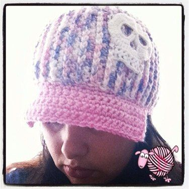 Crochet Newsboy Ribbed Adult Beanie - Dearest Debi ...