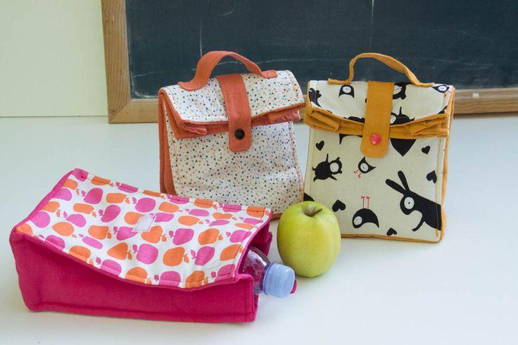 Petit sac à goûter- lunch bag [avec tuto] MademoiselleM