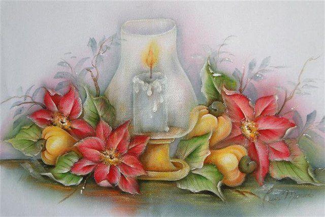 trilhos de mesa com pintura em tecido - Pesquisa Google