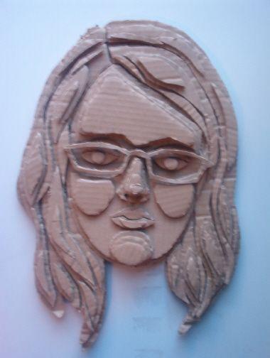 Cardboard Portrait by juelz