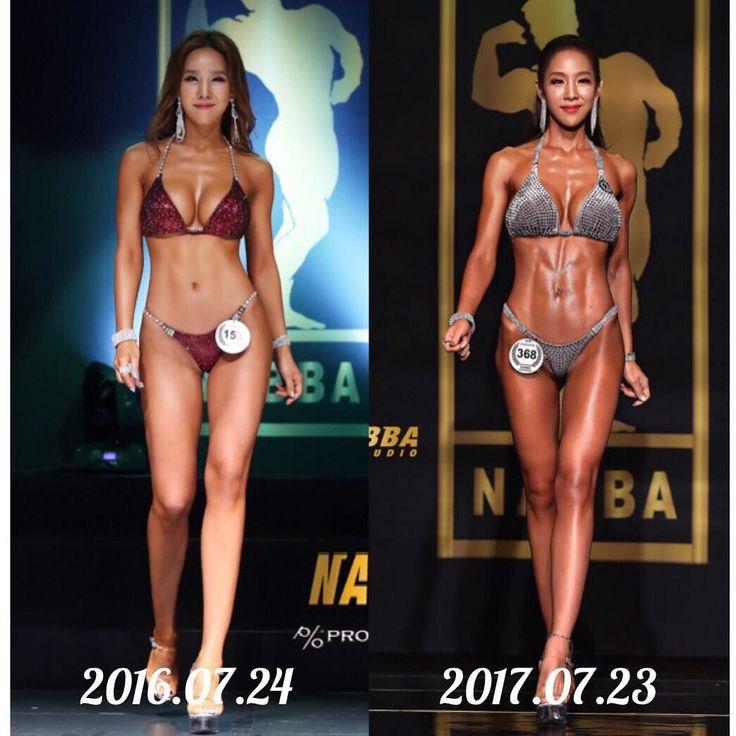- #beforeandafter . 첫 대회, 그 후 1년간의 노력 이제 부터가 진짜 시작점 이다💪 . . 💖Top Of Bikini @team_jt 💖 . . #teamjt#bodybuilding#bikiniathlete#nabbakorea#나바코리아#박솔나리선수#내추럴바디#naturalbody#bikini#몸스타그램#fitness#fitnessmodel#bodycheck#diet#다이어트#역삼pt#나바스튜디오