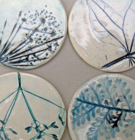 Etiquetas de regalo de cerámica botánico Set de por koalachickens