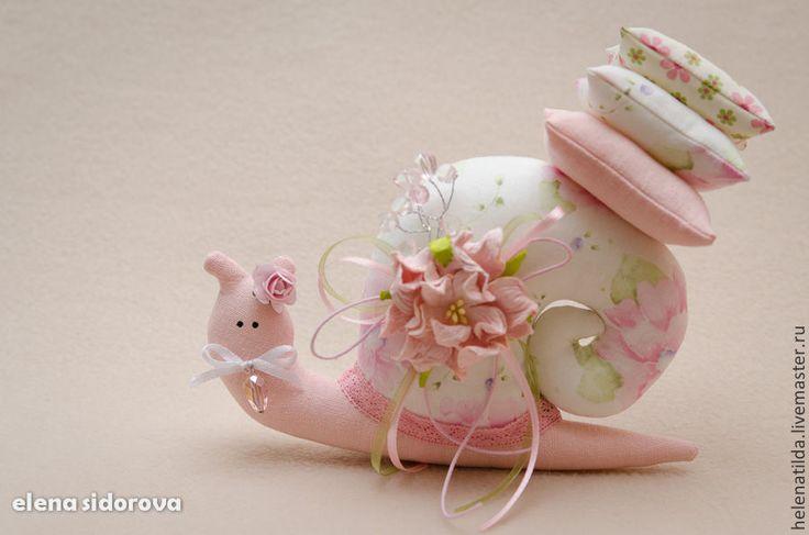 Улиточки - розовый,серый,улитка,тильда,Тильда улитка,улитка высота 12 ширина 19 смТильда,предмет интерьера
