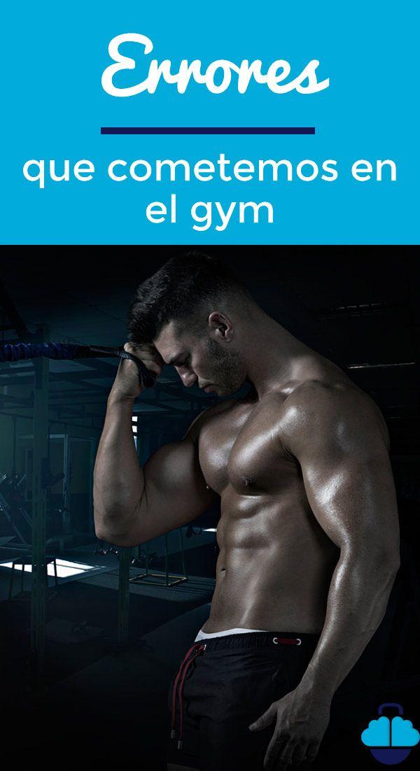 Conocer los principales #errores  que cometemos en el #gimnasio nos permitirá sacar un verdadero #rendimiento a nuestras sesiones de #entrenamiento. #fitness #gym #entrenar #musculo #tips #consejos #workout #motivaciónfitness