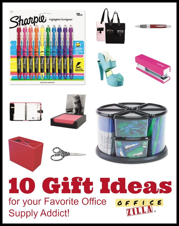 10 Office Gift Ideas For The Office Supply Addicts In Your Life. Http:/