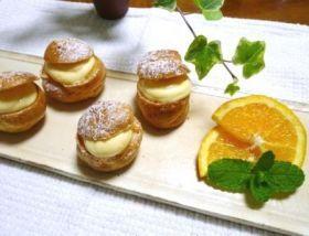 「●とろ〜りクリームの米粉のシュークリーム」わちっこ | お菓子・パンのレシピや作り方【corecle*コレクル】