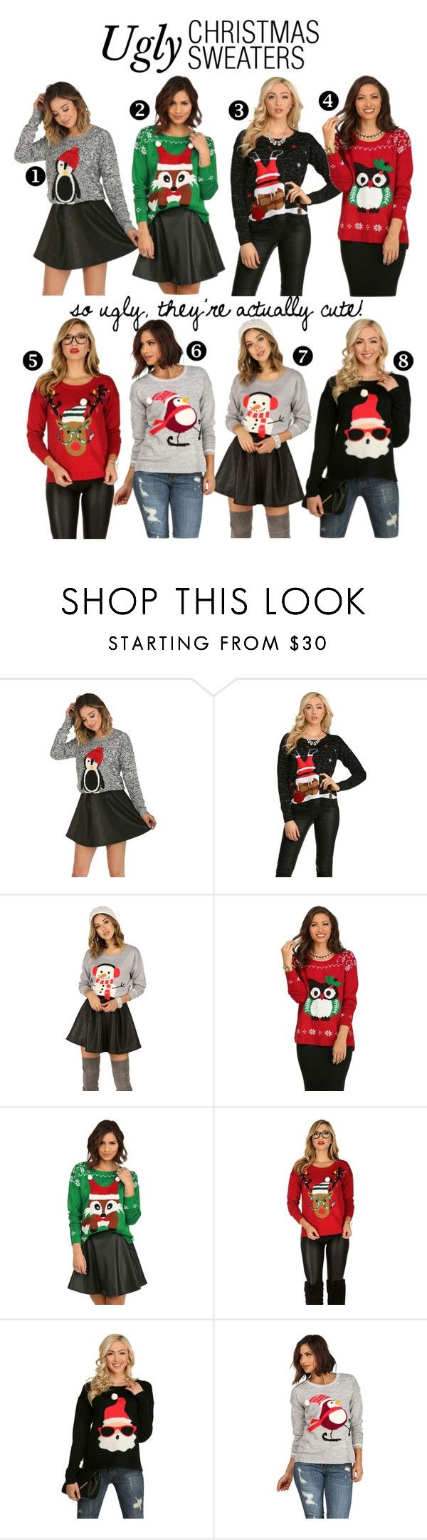 211 best Ugly Christmas Sweater Party Ideas images on Pinterest ...