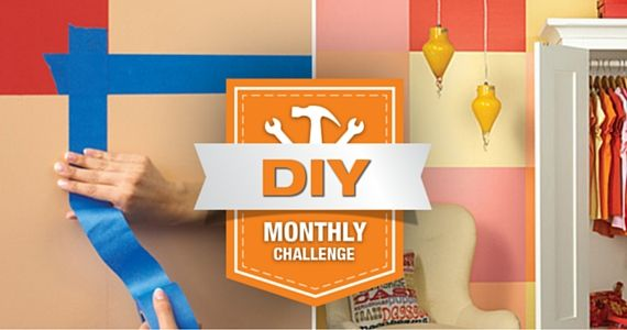 The Home Depot Monthly DIY Challenge