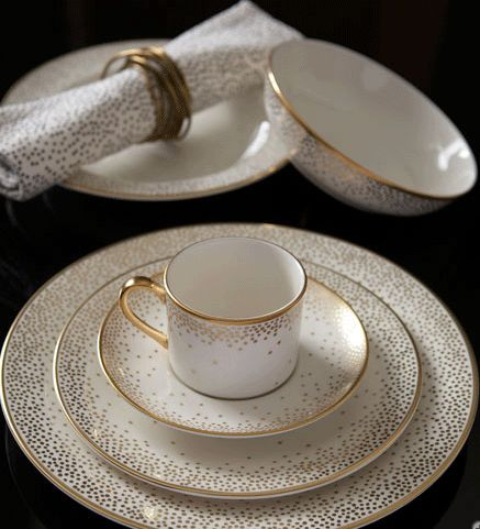 Kelly Wearstler for Pickard fine china, Trousdale pattern.