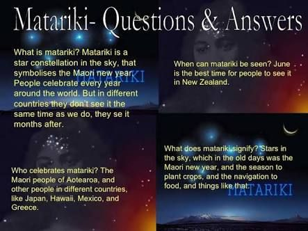Image result for matariki 2015