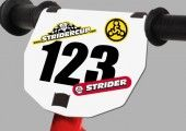 STRIDER™ Numberplate Kit #TeamRAD #RADGearCanada