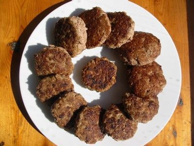OMG really great homemade salt free breakfast sausage. Just like Jimmy Deans only better