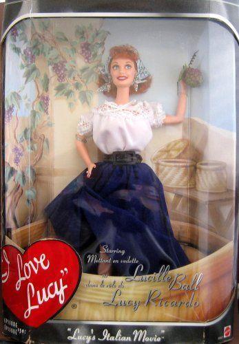 Barbie As Lucy in I Love Lucy - Lucy's Italian Movie Episode 150 by Mattel, http://www.amazon.com/dp/B000N14BEM/ref=cm_sw_r_pi_dp_x8w0pb0TRREGX