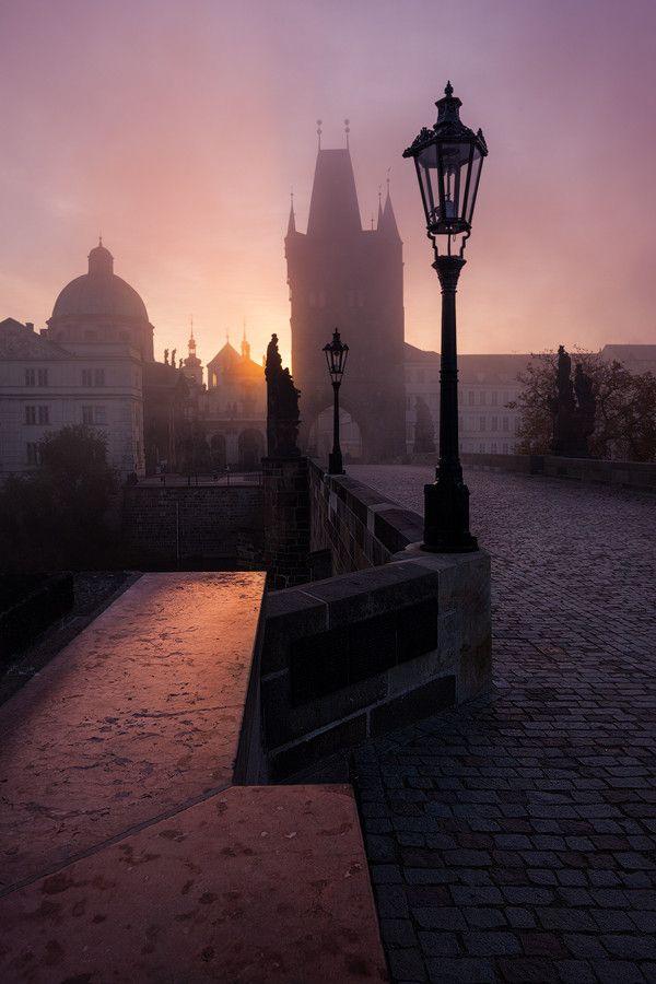 Fairytale Sunrise in Prague by Michal Vitásek on 500px
