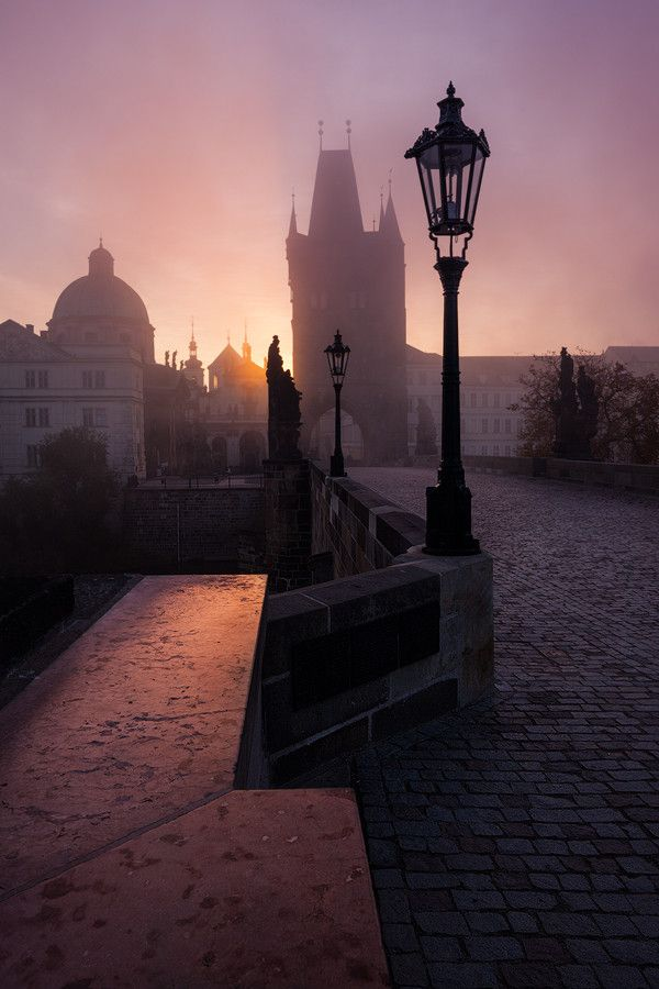 Fairytale Sunrise in Prague by Michal Vitásek on 500px