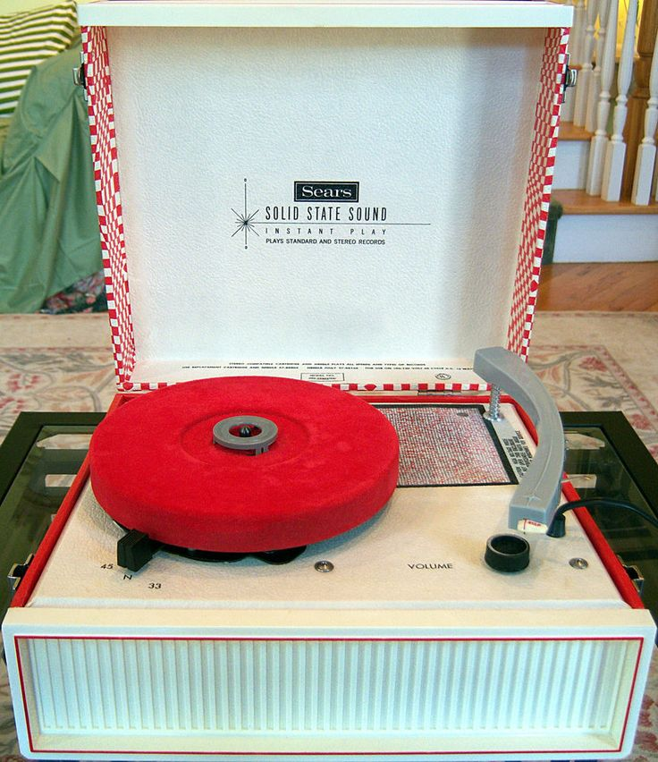 how to work a record player