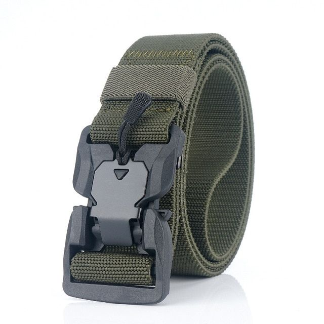 TACVASEN Heavy Duty Mens Tactical Belt Military Combat Sports Training Gear Belt
