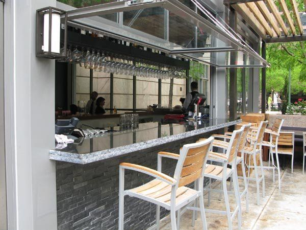 indoor outdoor bars are the new must have for restaurants