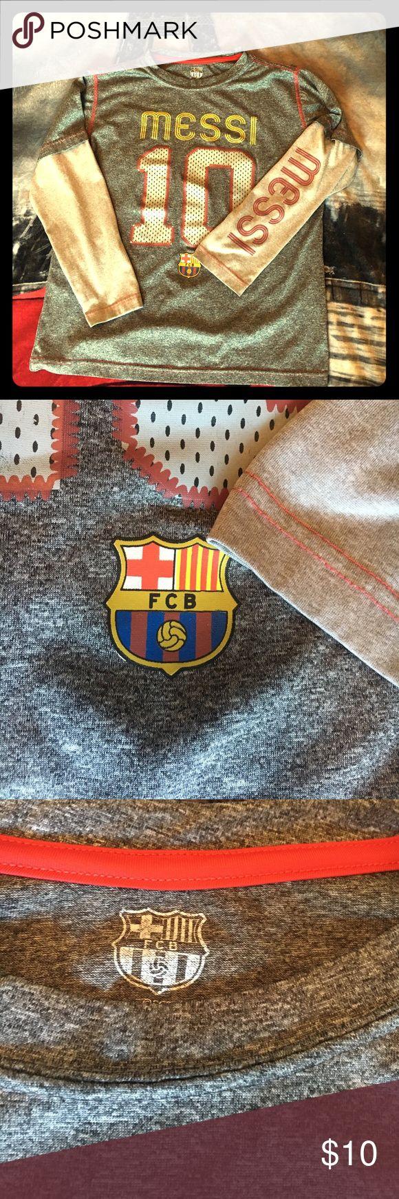 Messi shirt Boys Messi shirt. Tops Tees - Long Sleeve