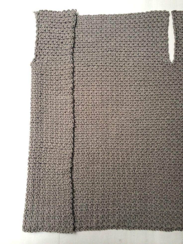 Echtstudio granietsteek eenvoudig vest