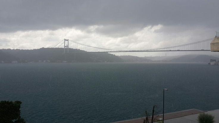 Yağmurda  bile  muhteşem. ..İstanbul